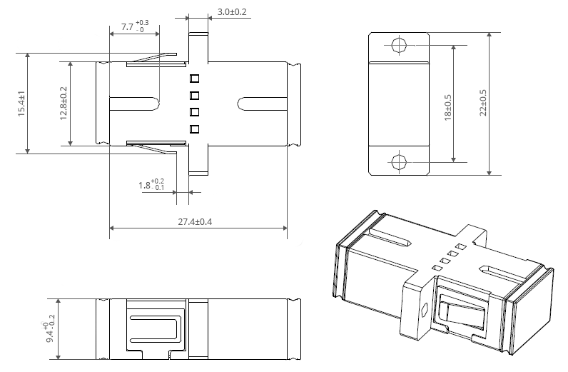 SC-APC-Fiber-Coupler