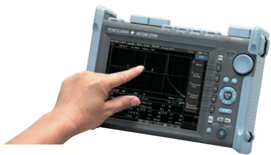màn hình cảm ứng máy đo AQ7280