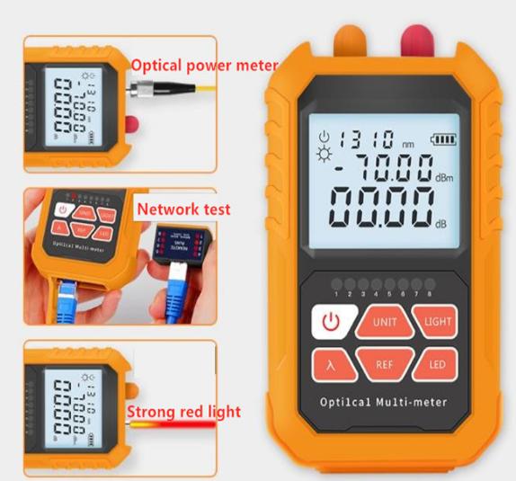 máy đo công suất quang tích hợp phát lazer