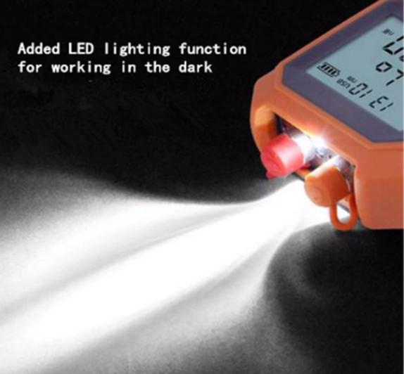 máy đo công suất quang SGM305 tích hợp đèn chiếu sáng ban đêm