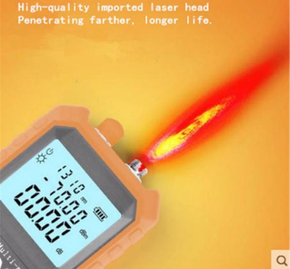 máy đo công suất quang SGM 305 tích hợp phát ánh sáng đỏ