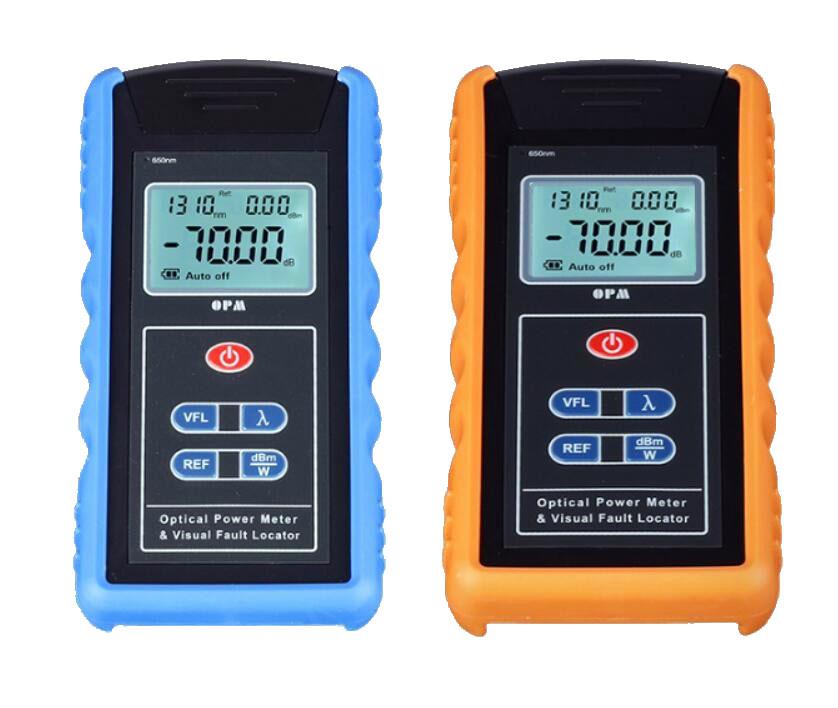 máy đo công suất quang và tích hợp phát laser