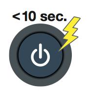 thời gian bật nguồn máy đo OTDR cáp quang AQ7280